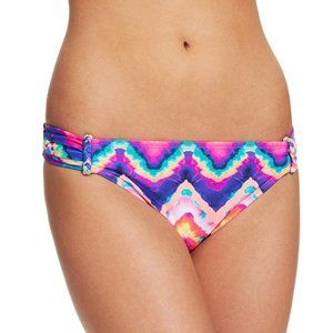 NWT California Waves Side-tab Bikini Bottom